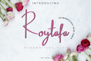 Print on Demand: Roytafa Script & Handwritten Font By twinletter