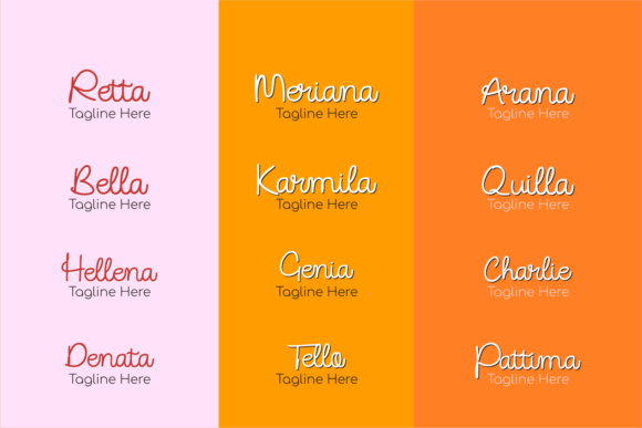Download Free Sellia Font By Mozyenstudio Creative Fabrica for Cricut Explore, Silhouette and other cutting machines.