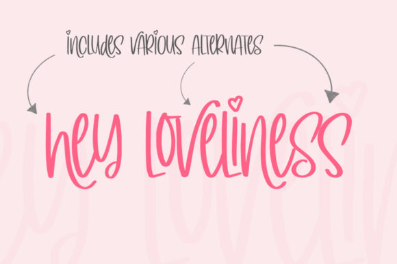 Print on Demand: Simply Lovely Display Font By Salt & Pepper Designs - Image 5