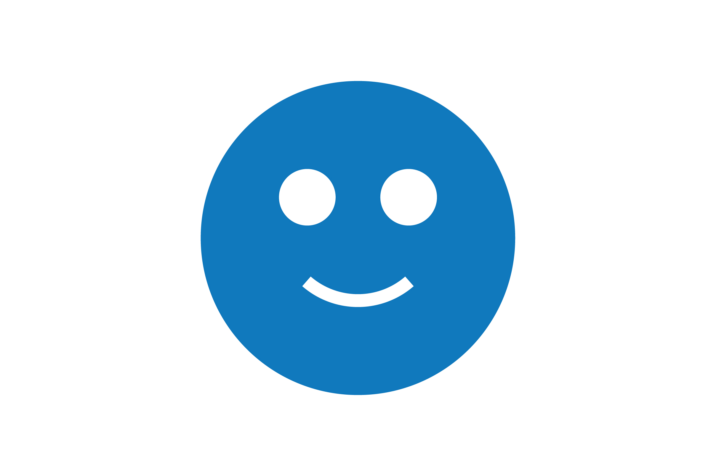 Download Free Smile Emoji Glyph Blue Icon Vector Graphic By Riduwan Molla for Cricut Explore, Silhouette and other cutting machines.