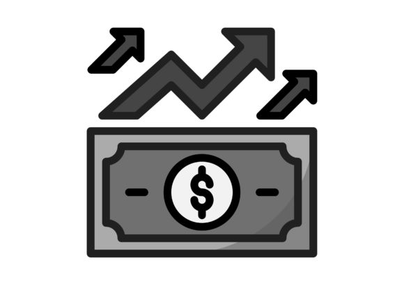 Download Free Start Up Dollar Graphic By Raraden655 Creative Fabrica for Cricut Explore, Silhouette and other cutting machines.