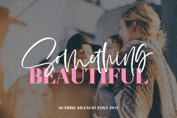Print on Demand: Sunrise Silencio Duo Script & Handwritten Font By Salt & Pepper Designs - Image 2