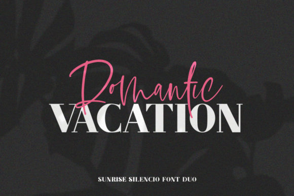Print on Demand: Sunrise Silencio Duo Script & Handwritten Font By Salt & Pepper Designs - Image 4