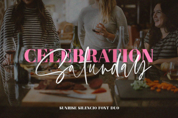 Print on Demand: Sunrise Silencio Duo Script & Handwritten Font By Salt & Pepper Designs - Image 6