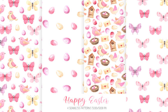 Watercolor Happy Easter Collection Graphic Illustrations By Larysa Zabrotskaya - Image 4