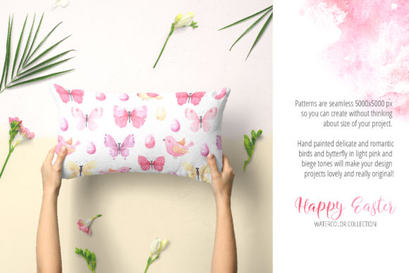 Watercolor Happy Easter Collection Graphic Illustrations By Larysa Zabrotskaya - Image 5