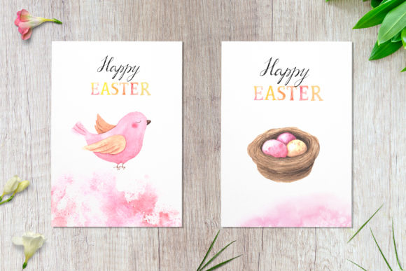 Watercolor Happy Easter Collection Graphic Illustrations By Larysa Zabrotskaya - Image 6
