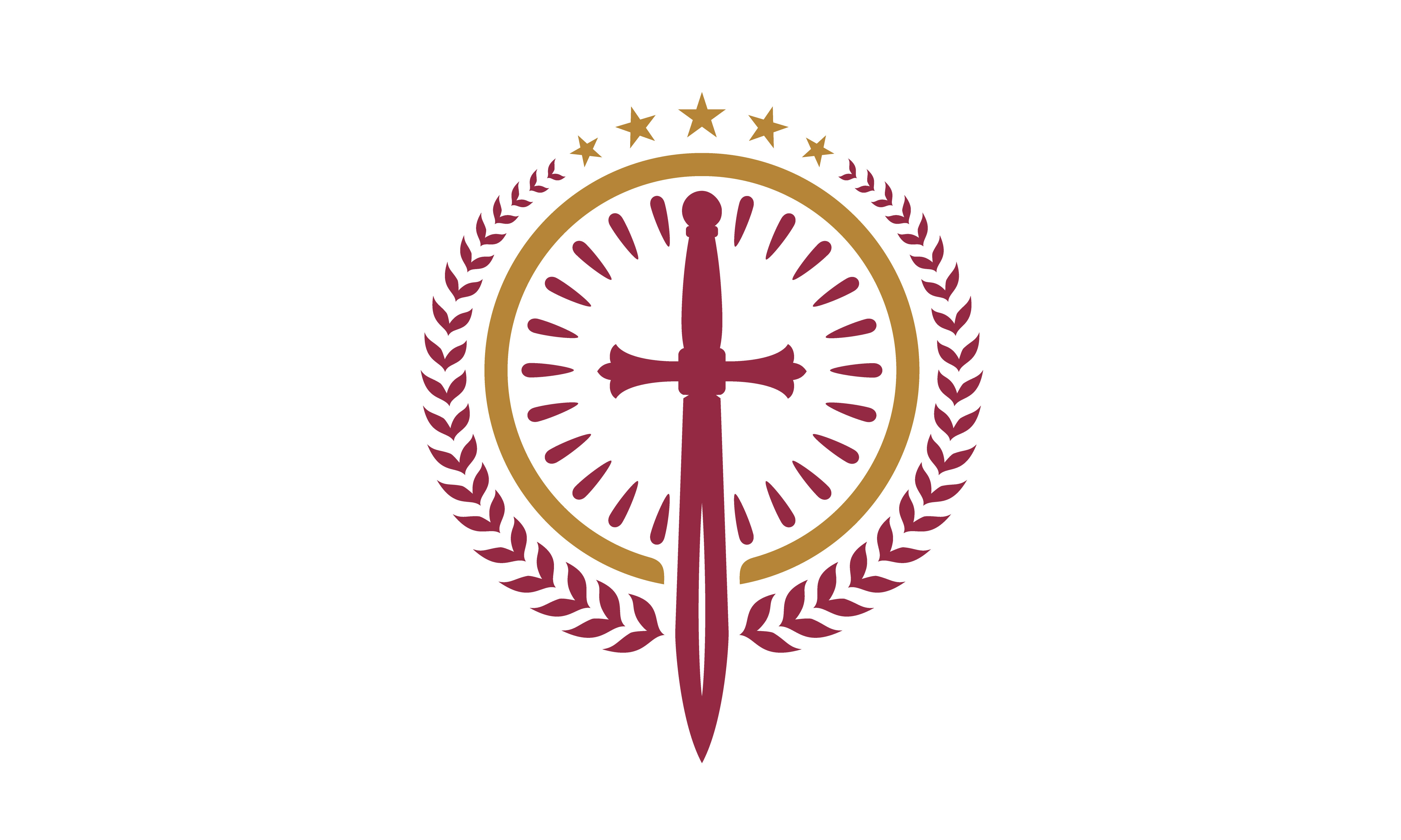Download Free Catholic Christian Sword Blade Logo Graphic By Enola99d for Cricut Explore, Silhouette and other cutting machines.