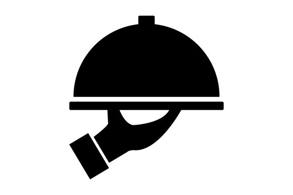 Download Free Dish Serving Icon Graphic By Marco Livolsi2014 Creative Fabrica for Cricut Explore, Silhouette and other cutting machines.