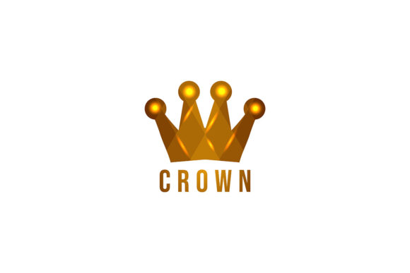 Download Free Golden King Crown Logo Ideas Inspirat Graphic By for Cricut Explore, Silhouette and other cutting machines.