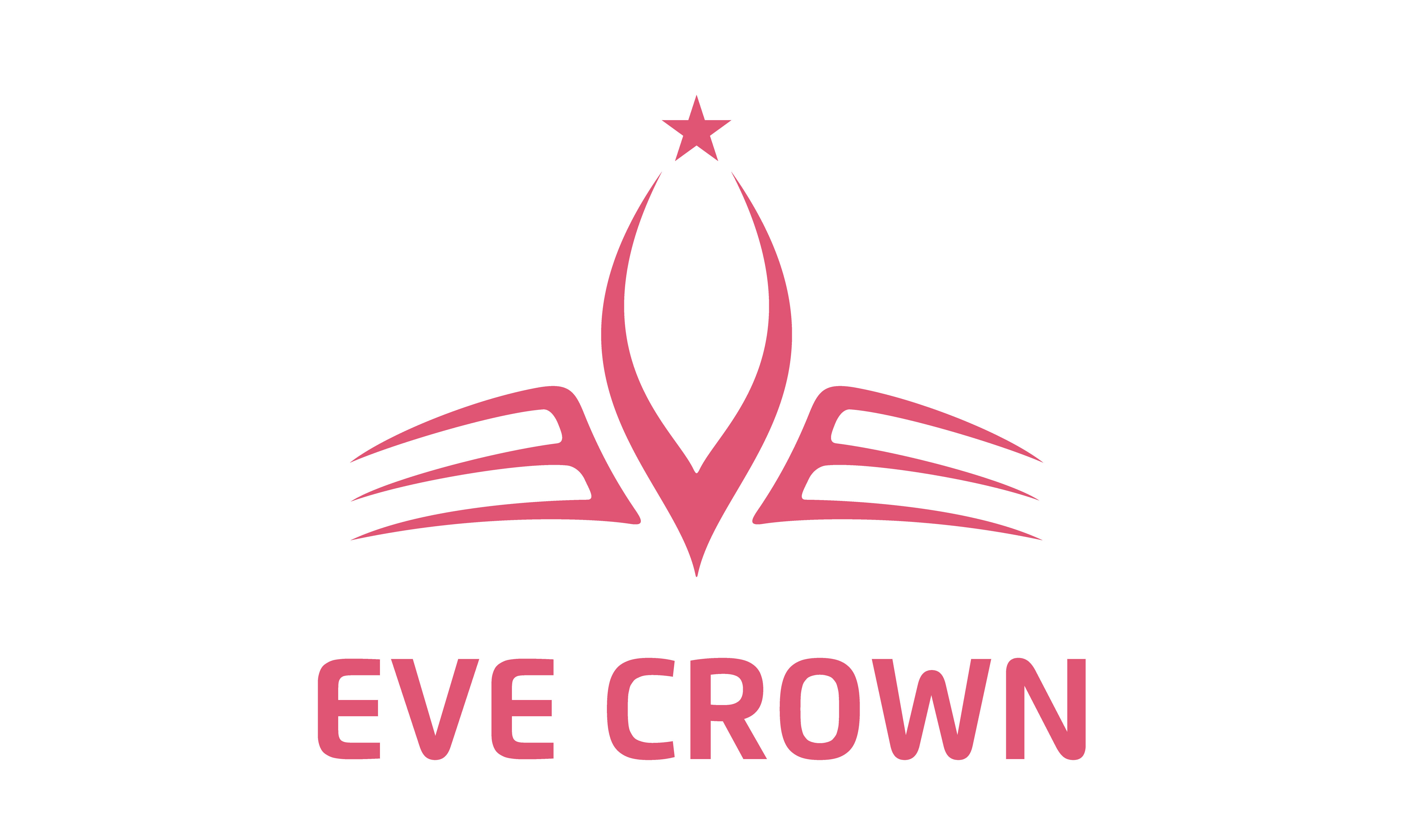 Download Free Initials E Eve With Crown Logo Logotype Graphic By Enola99d for Cricut Explore, Silhouette and other cutting machines.