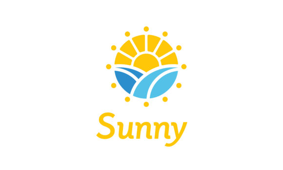 Download Free Sun Sunrise Flower Morning Spring Logo Graphic By Enola99d for Cricut Explore, Silhouette and other cutting machines.