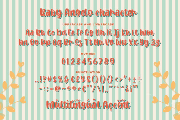 Baby Angelo Font Preview