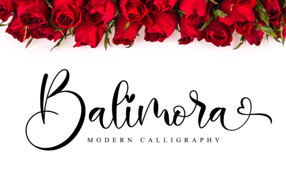 Print on Demand: Balimora Script Script & Handwritten Font By NissaStudio