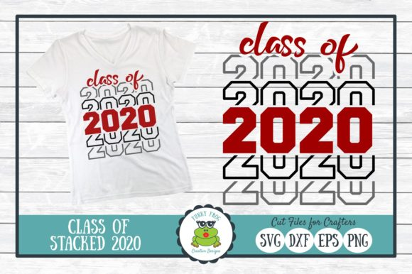 Class Of 2020 Graduation Cut File Graphic By