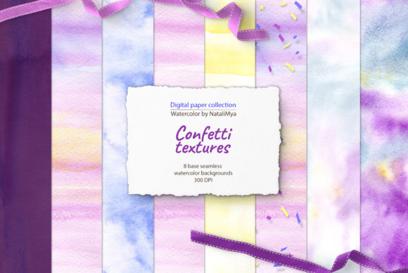 Download Free Cute Confetti Seamless Backgrounds Graphic By Natalimyastore for Cricut Explore, Silhouette and other cutting machines.