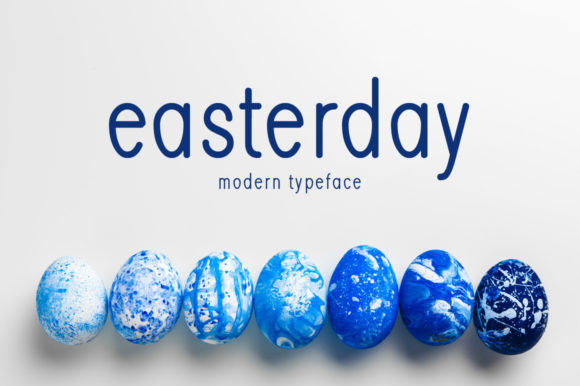 Print on Demand: Easterday Display Font By Seemly Fonts