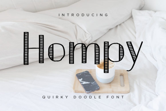Print on Demand: Hompy Sans Serif Font By thetrendingfonts