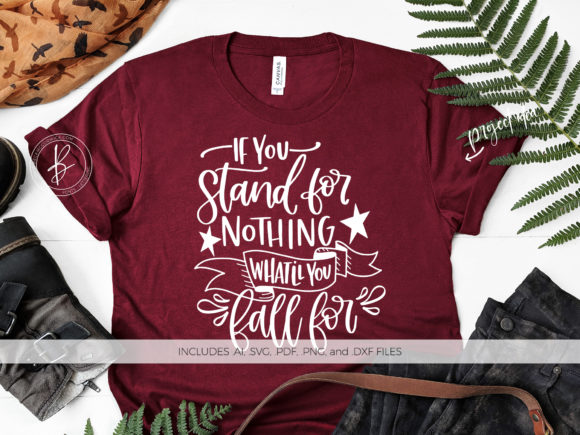 Print on Demand: If You Stand for Nothing Graphic Crafts By BeckMcCormick