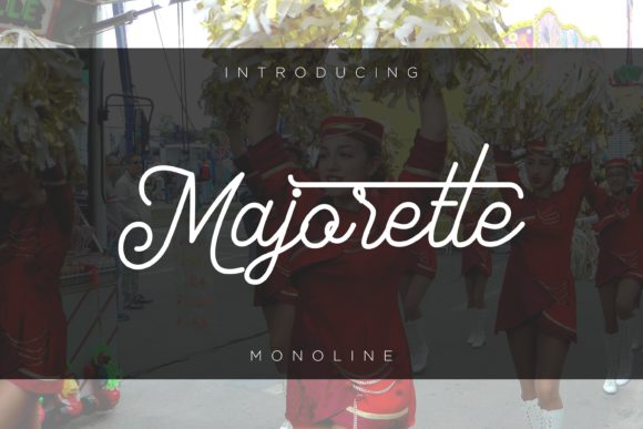 Print on Demand: Majorette Sans Serif Font By fiqiart09