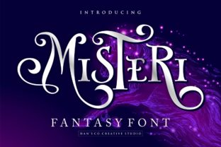 Print on Demand: Misteri Display Font By HansCo