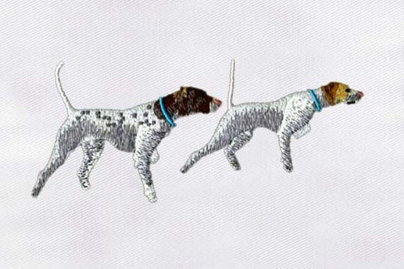 Racing Dogs Dogs Embroidery Design By DigitEMB