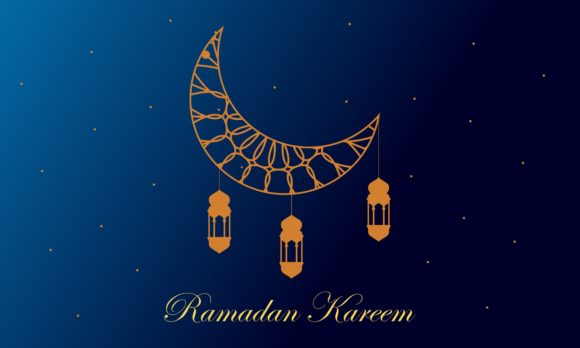 Download Free Ramadan Kareem And Mubarak Greeting Graphic By Deemka Studio for Cricut Explore, Silhouette and other cutting machines.