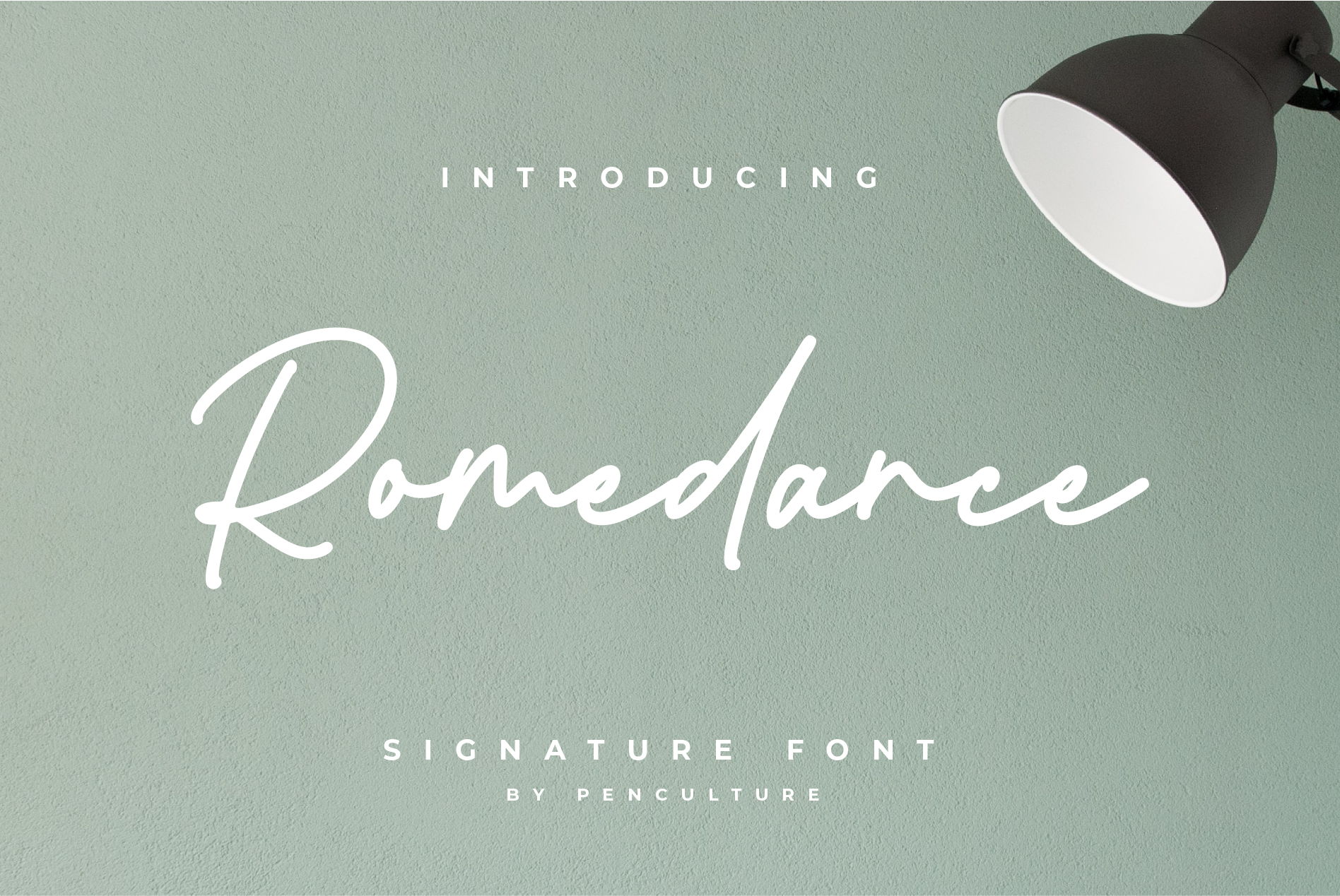 Download Free Romedance Fuente Por Pen Culture Creative Fabrica for Cricut Explore, Silhouette and other cutting machines.