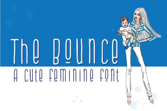 Print on Demand: The Bounce Script & Handwritten Font By Cititype