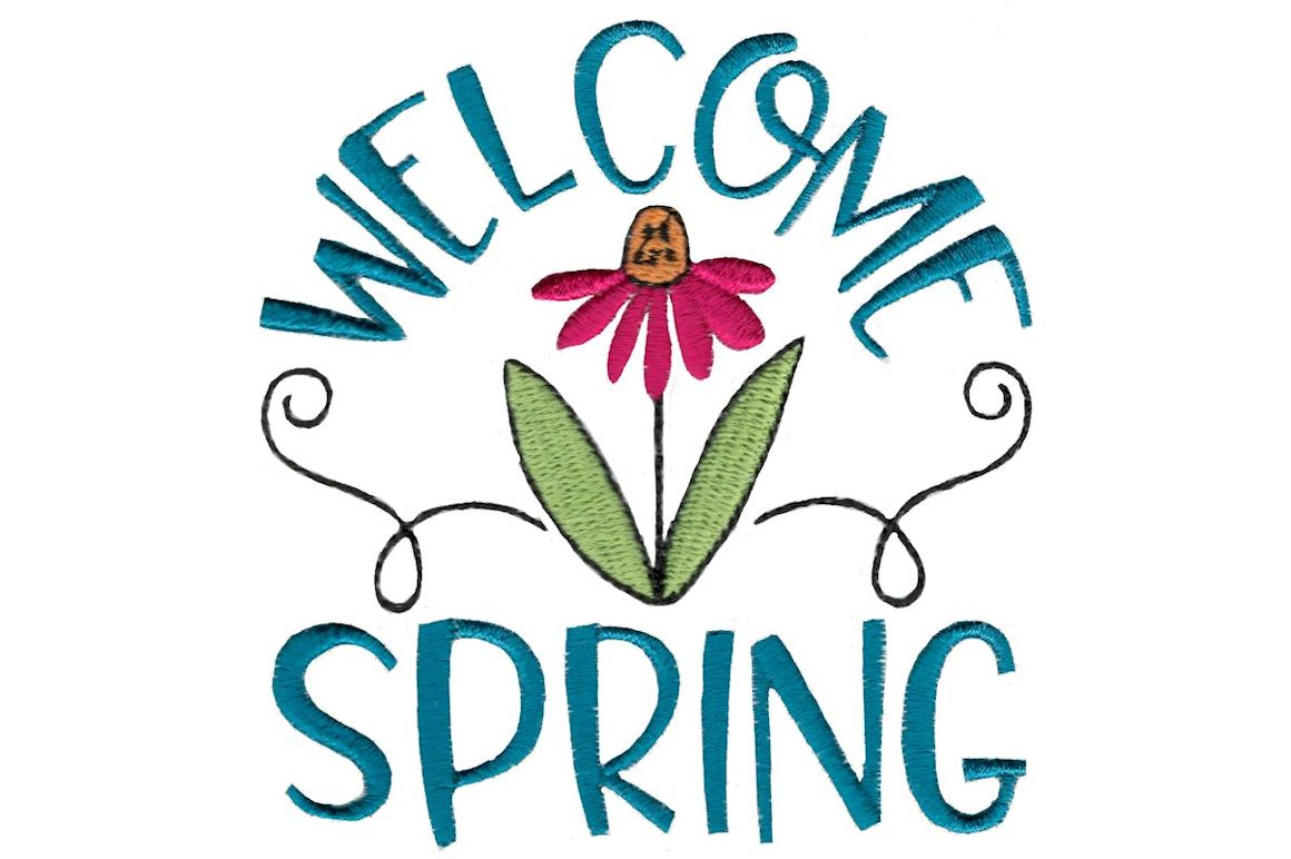 Download Free Welcome Spring Creative Fabrica SVG Cut Files