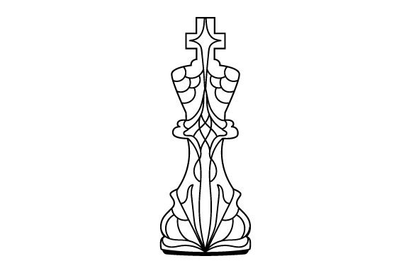 Download Free King Mandala Style Svg Cut File By Creative Fabrica Crafts for Cricut Explore, Silhouette and other cutting machines.
