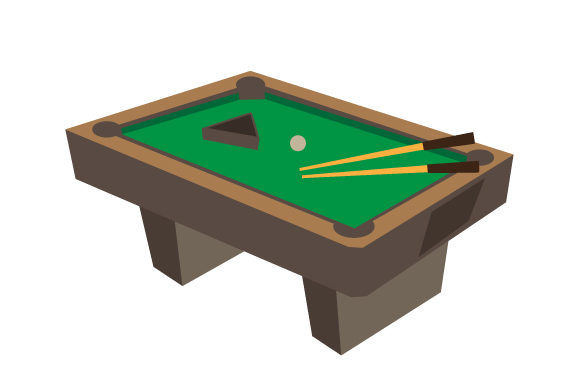 Pool Table Games Craft Cut File By Creative Fabrica Crafts - Image 1