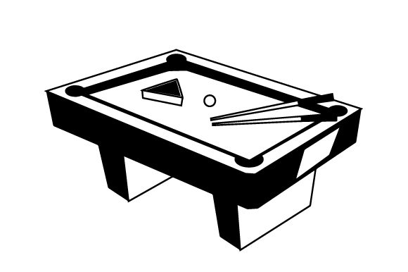 Pool Table Games Craft Cut File By Creative Fabrica Crafts - Image 2