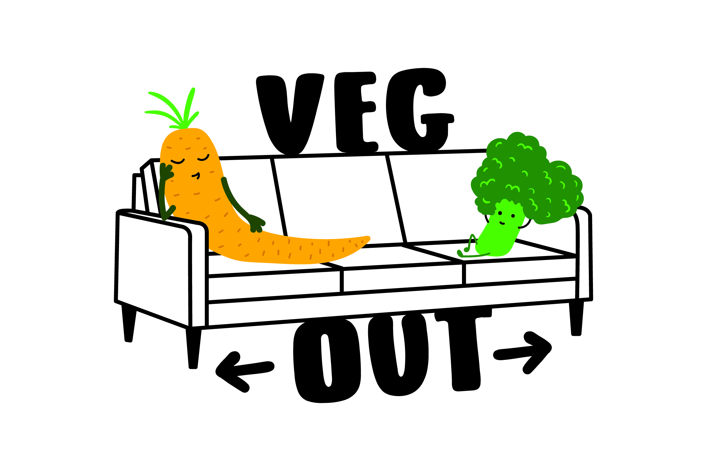 Download Free Veg Out Svg Cut File By Creative Fabrica Crafts Creative Fabrica for Cricut Explore, Silhouette and other cutting machines.