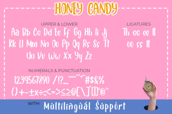 Print on Demand: Honey Candy Display Font By Madatype Studio - Image 6