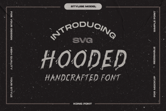 Print on Demand: Hooded Serif Font By fontkong