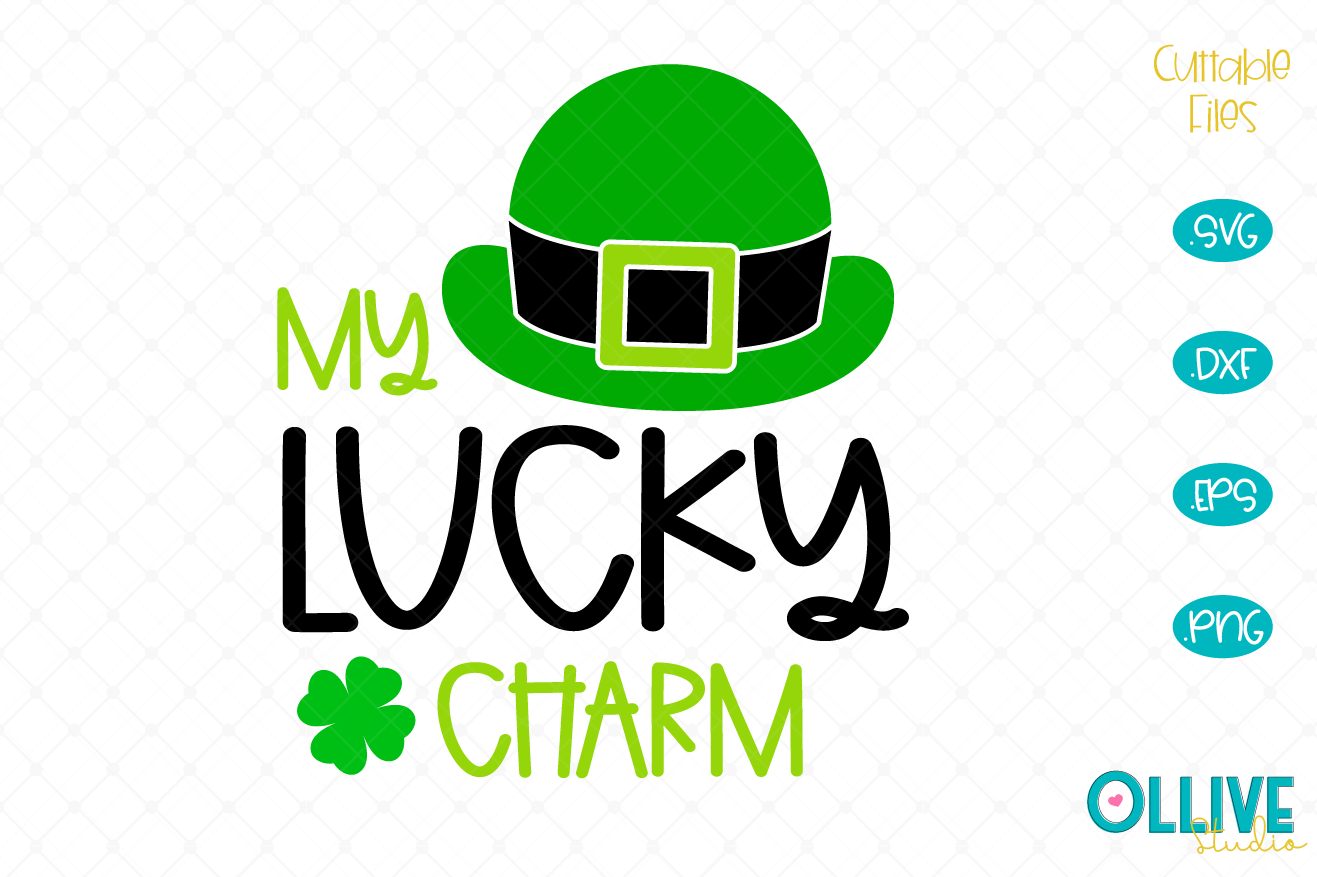 Download Free My Lucky Charm St Patrick S Day Graphic By Ollivestudio for Cricut Explore, Silhouette and other cutting machines.