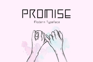 Print on Demand: Promise Display Font By Seemly Fonts