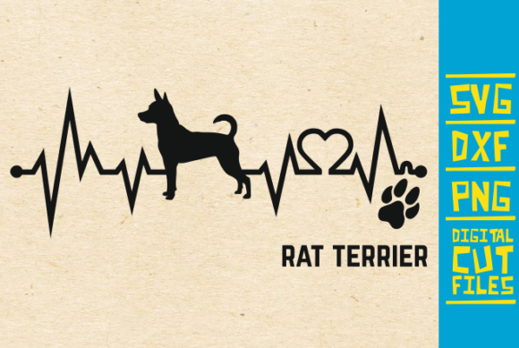Download Free Rat Terrier Dog Graphic By Svgyeahyouknowme Creative Fabrica for Cricut Explore, Silhouette and other cutting machines.