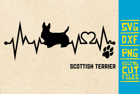 Scottish Terrier Dog Graphic By Svgyeahyouknowme Creative Fabrica