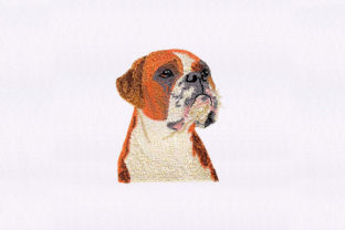 Staffordshire Face Dogs Embroidery Design By DigitEMB