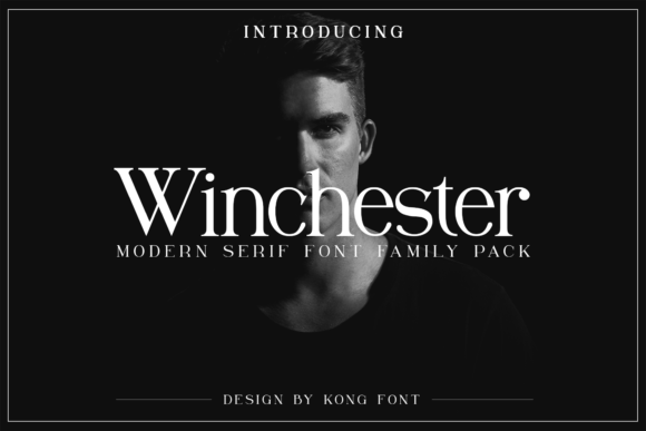 Print on Demand: Winchester Serif Font By fontkong - Image 1