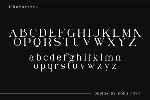 Print on Demand: Winchester Serif Font By fontkong - Image 6