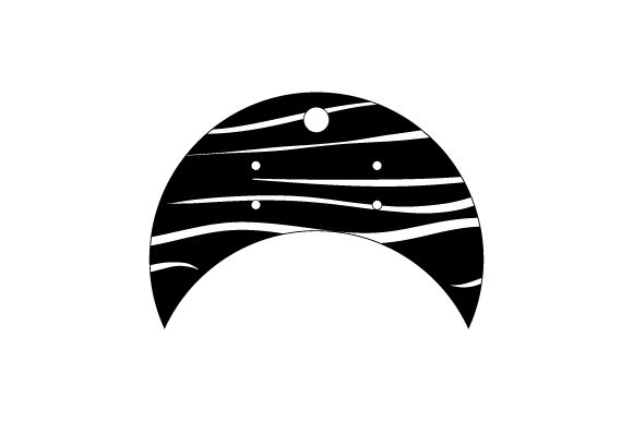 Download Free Moon Earring Card Svg Cut File By Creative Fabrica Crafts for Cricut Explore, Silhouette and other cutting machines.