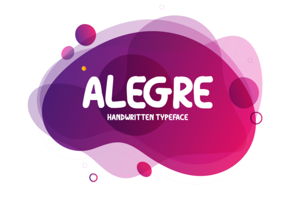 Print on Demand: Alegre Display Font By Seemly Fonts