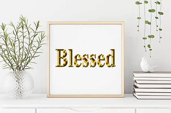 Download Free Blessed Cut Design Graphic By Creativesya Creative Fabrica for Cricut Explore, Silhouette and other cutting machines.