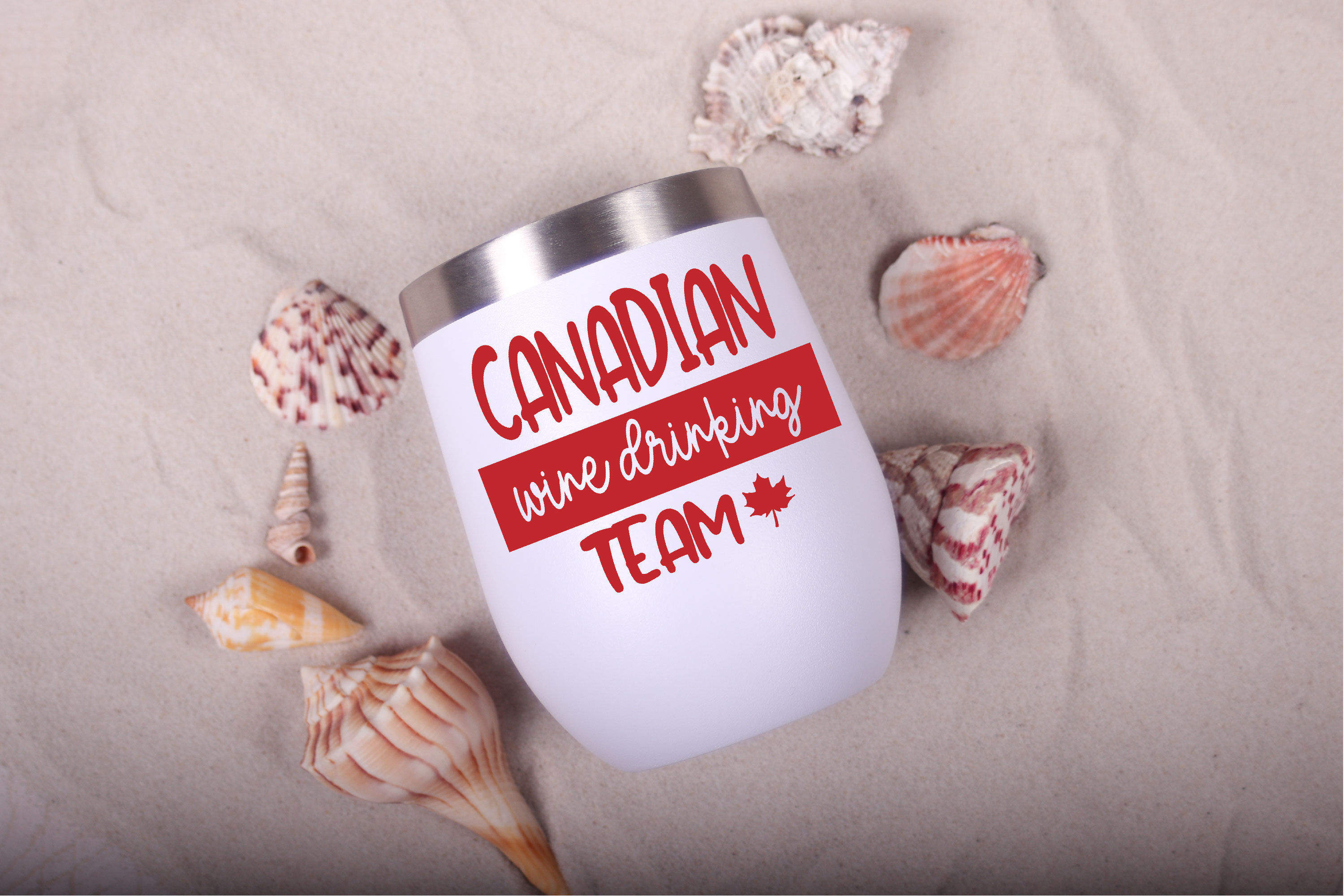 Canadian Wine Drinking Team Drinking Graphic By Onceuponadimeyxe