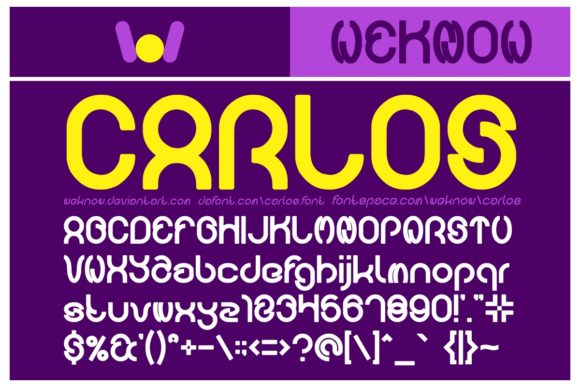 Download Free Carlos Font By Weknow Creative Fabrica SVG Cut Files