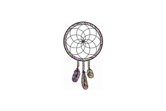 Dream Catcher Religion & Faith Embroidery Design By designsbymira
