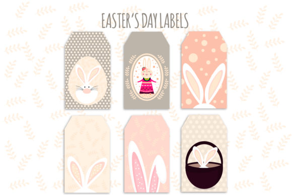 Download Free Easter Easter Labels Easter Decor Graphic By Igraphic Studio for Cricut Explore, Silhouette and other cutting machines.